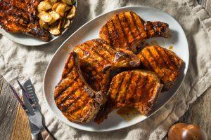 Homemade Barbecue Pork Chops