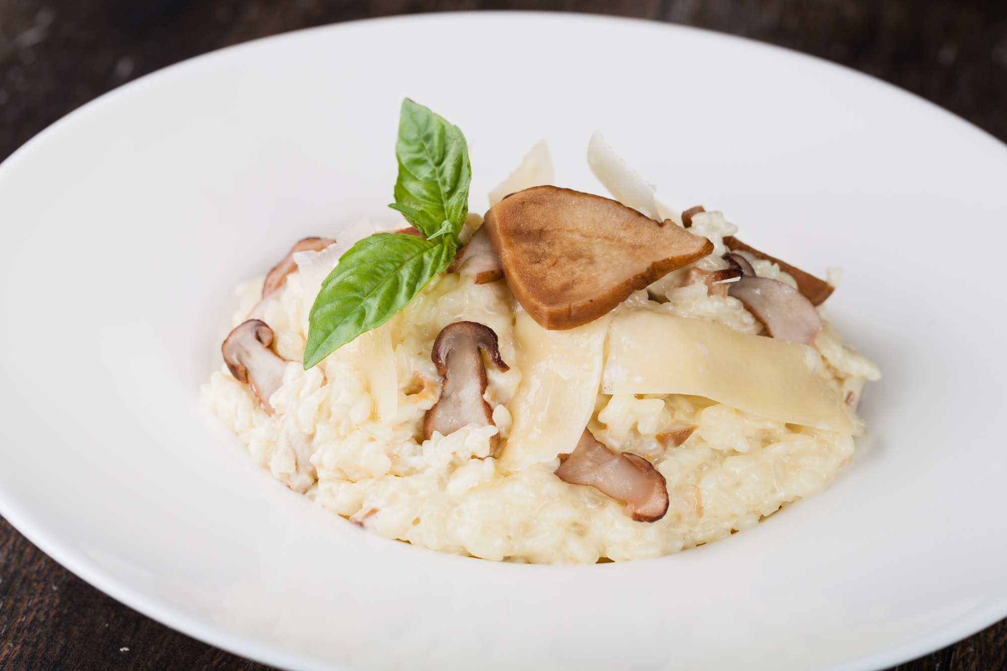 risotto with porcini mushroom